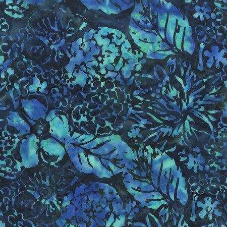 Anthology Bali - Leaves - Dk Blue/Blue