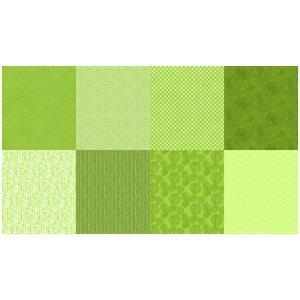 Details Digital Fat Quarters - Lime - Green