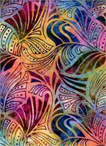 Batik Textiles - Texture - Multi