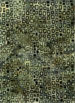 Batik Textiles - Squares - Lt Brown
