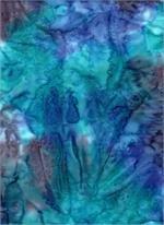 Batik Textiles - Texture - Blue/Purple