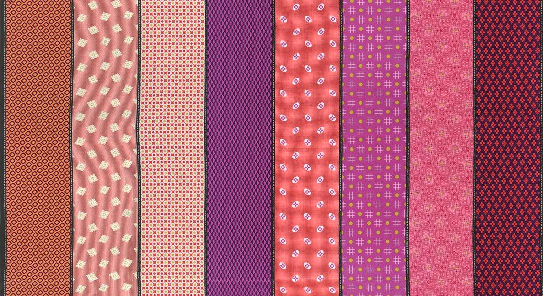 Lollies Sweetie - Wide Stripes - Multi/Pink