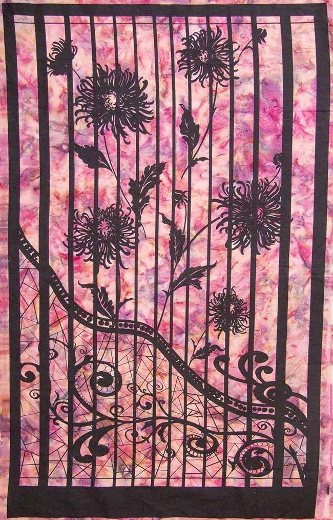 Bayan Batiks - Shattered Glass - Panel - Purple