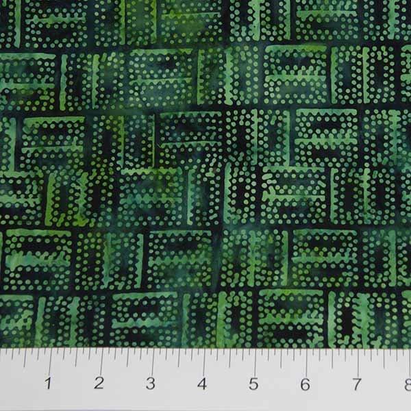 Banyan Batiks - Mary - Dots - Green