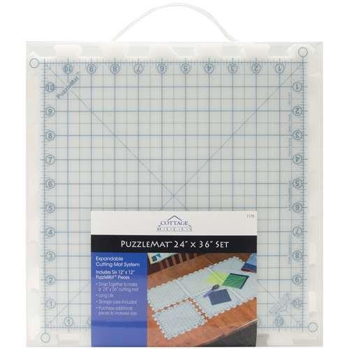 Puzzlemat - Cutting Mat - 12 x 12 - Set of 6