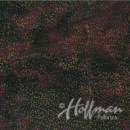 Hoffman Bali - Dots - Purple