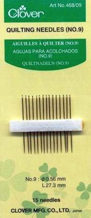 Quilting Needles (No.9) pk 15