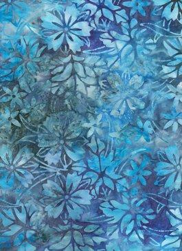 Anthology Bali - Flowers - Blue