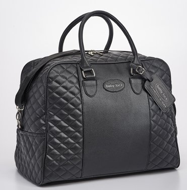 Babylock Quilted Machine Tote Black