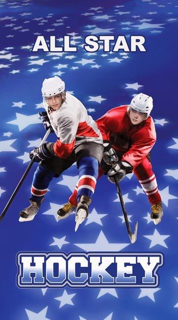 All Star Hockey - Panel - Hockey Player