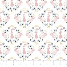 Mary Poppins - Characters/Floral - White/Multi