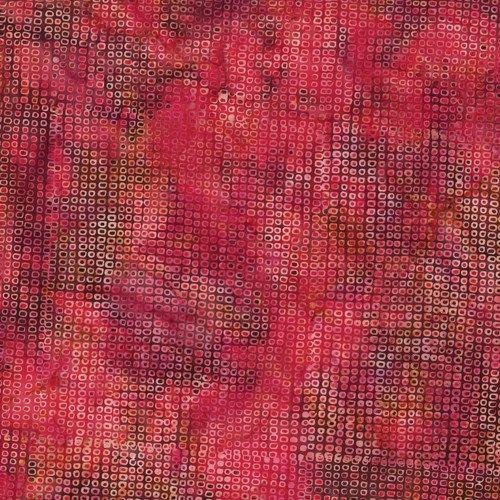 Hoffman Bali - Dots - Pink/Lt Pink - Flame