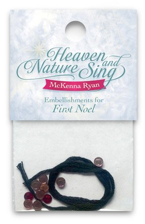 Heaven And Nature Sing/First Noel/ Embellishment Pack
