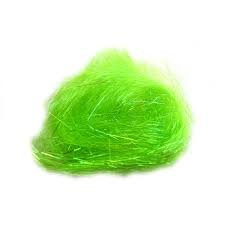 Heat Bondable Angelina Fibers - Key Lime