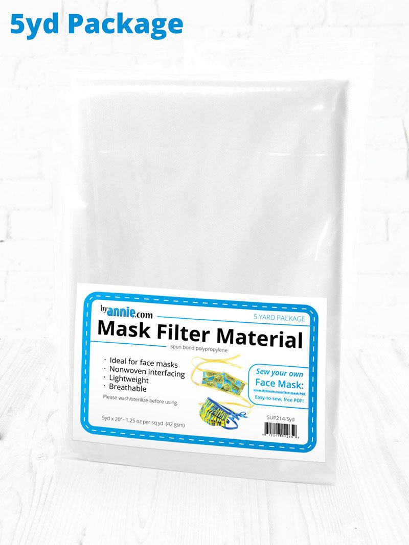 Mask Filter Material - Collection - By Annie