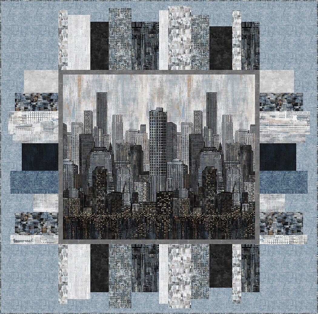 Metropolis 2 - Pattern - The Whimsical Workshop