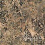 Hoffman Bali - Leaves - Brown/Green