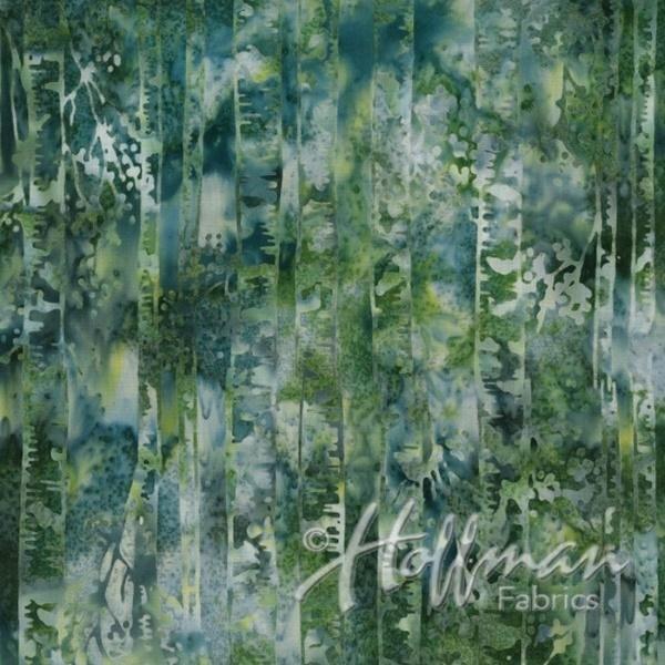 Hoffman Bali - Trees - Lt Green
