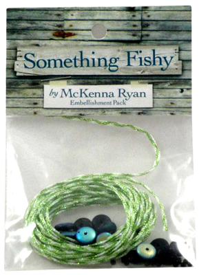 Something Fishy/ Embellishment Pack