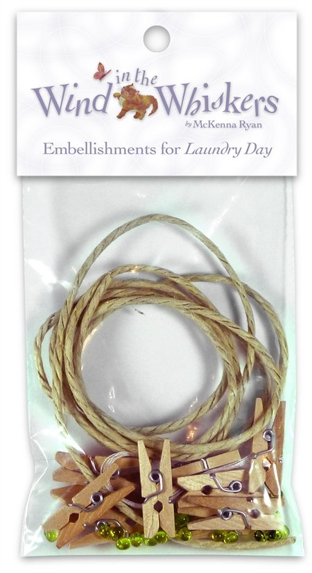 Wind In The Whiskers/Laundry Day/Embellishment Pack