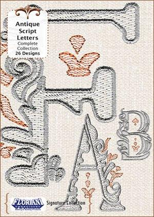 FL-S-9744  Antique Script