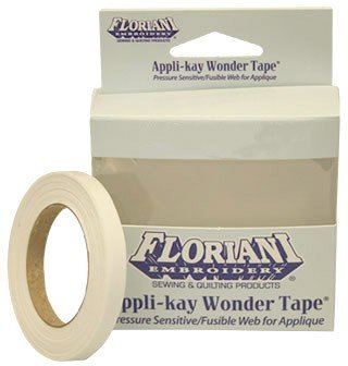 FL-FAW-QTR Appli-Kay Wonder Tape -1/4 x 9 yds