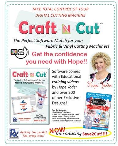 FL-QSP-CNC  Quilters Select Craft N Cut Software