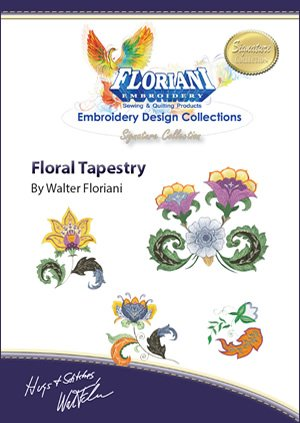 FL-DVDTAP  Floral Tapestry Project DVD