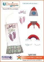 FL-U-SPK  U-Design It Split Kids
