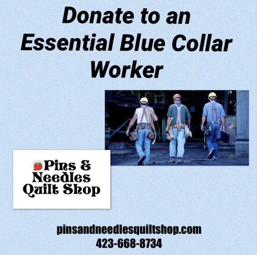 DONATE to a Essential BLUE COLLAR worker.