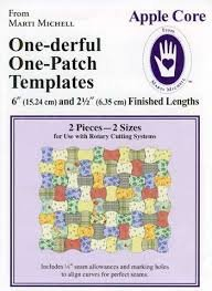 Apple Core One-derful One-Patch Templates from Marti Michell