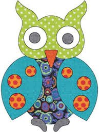 Applique Elementz -Spotted Owl