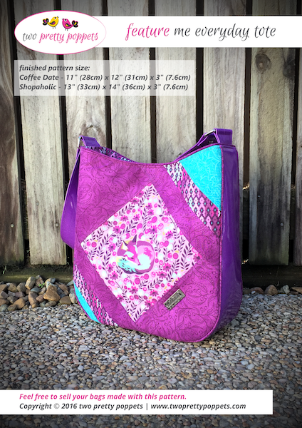 Feature Me Everyday Tote Pattern