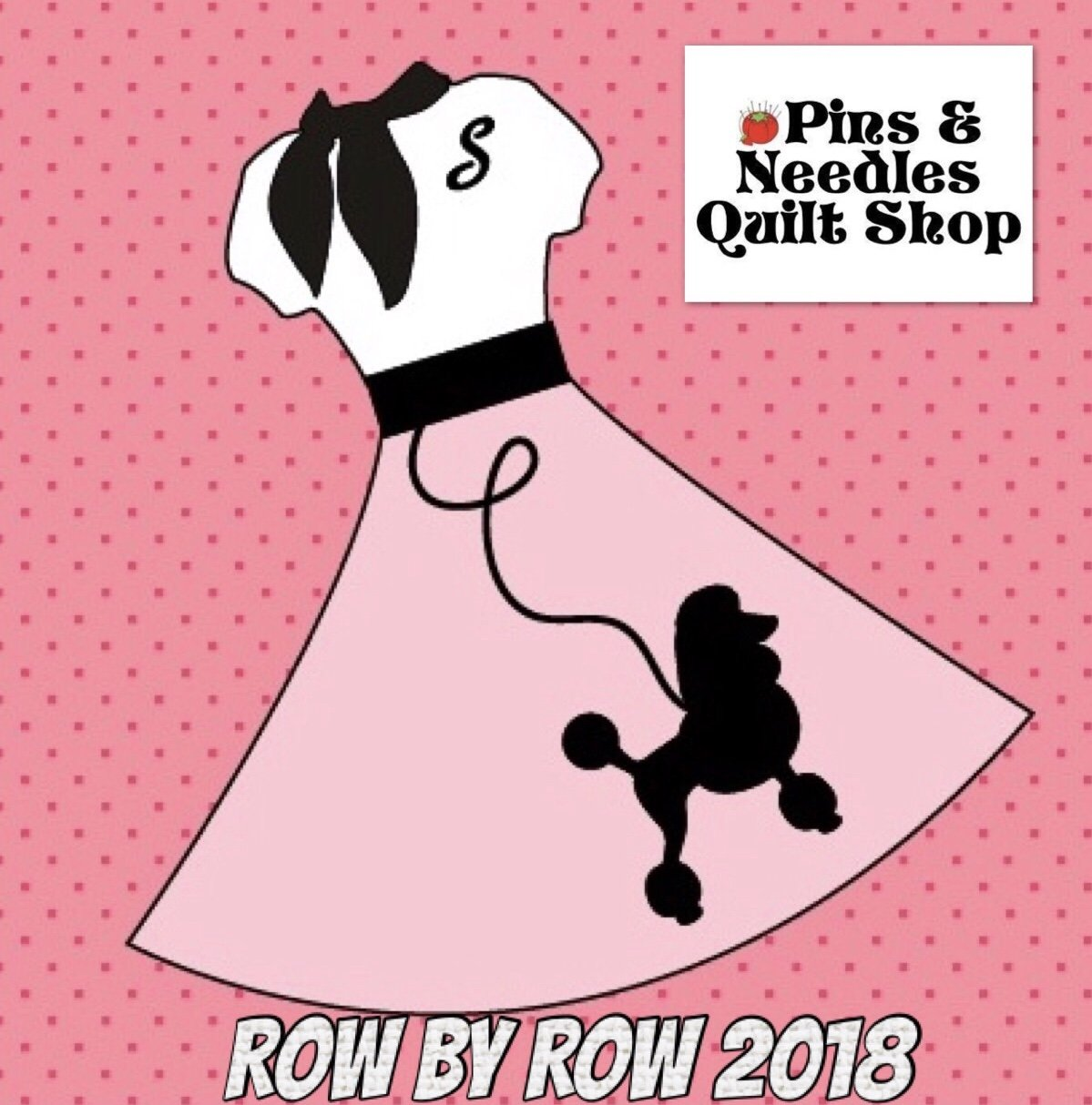 2018 ROW BY ROW- Poodle Skirt Row Pattern