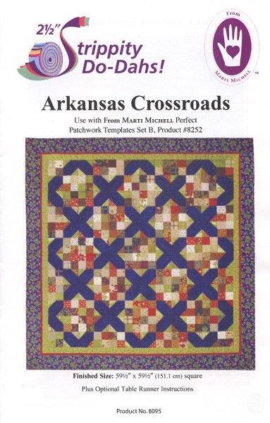 Arkansas Crossroads Pattern by Marti Michell