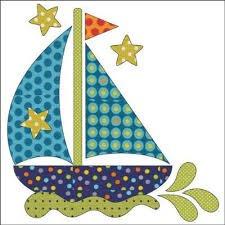 Applique Elementz. Sail Away
