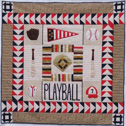 Play Ball Quilt Pattern Impressive Baseball Quilt Pattern