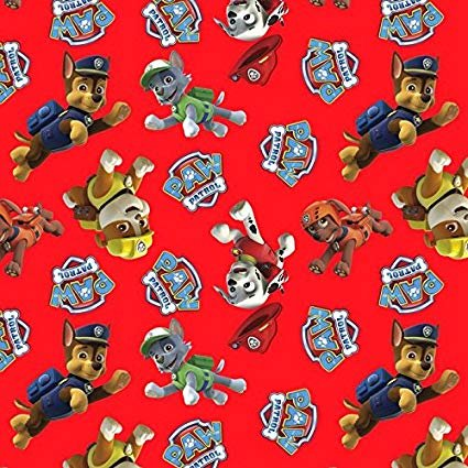 David Textiles - Paw Patrol Toss