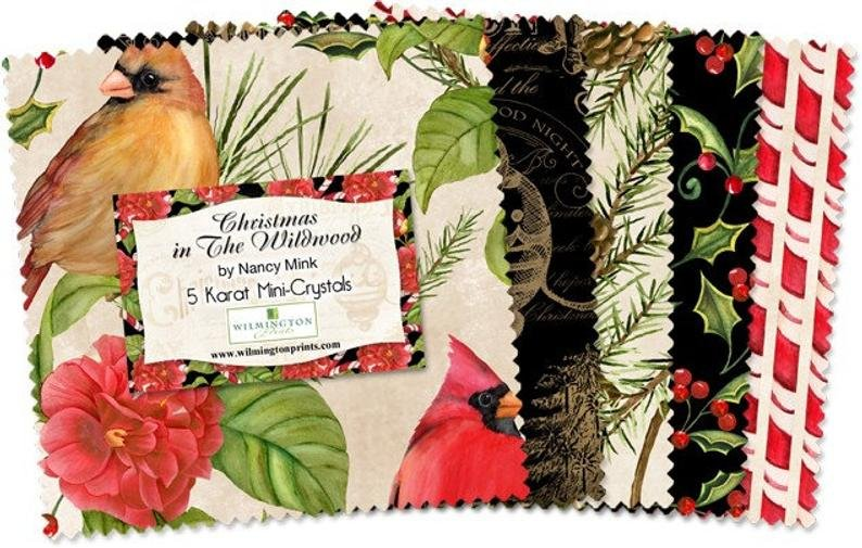 Christmas in the Wildwood - 5 inch squares