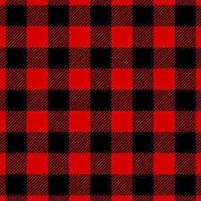 Seasonal Gingham RED/BLACK
