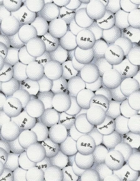 Timeless Treasures - Golf Pro Golf Balls