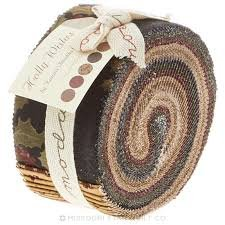 Holly Wishes by Kansas Troubles Quilters Jelly Roll