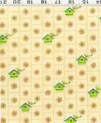 Clothworks Tweet Street Y0453-2 Cream
