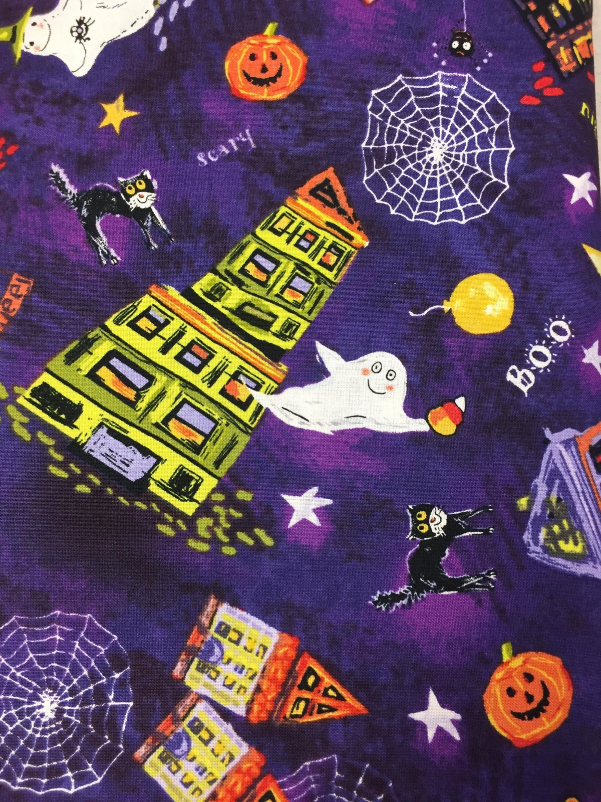 Fabri-Quilt, INC Trick or Treat Happy Halloween