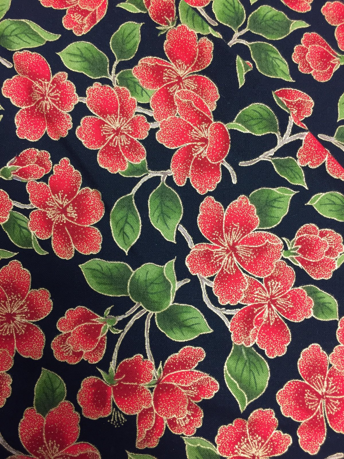Moda Magnolia Metallics 33242 17M