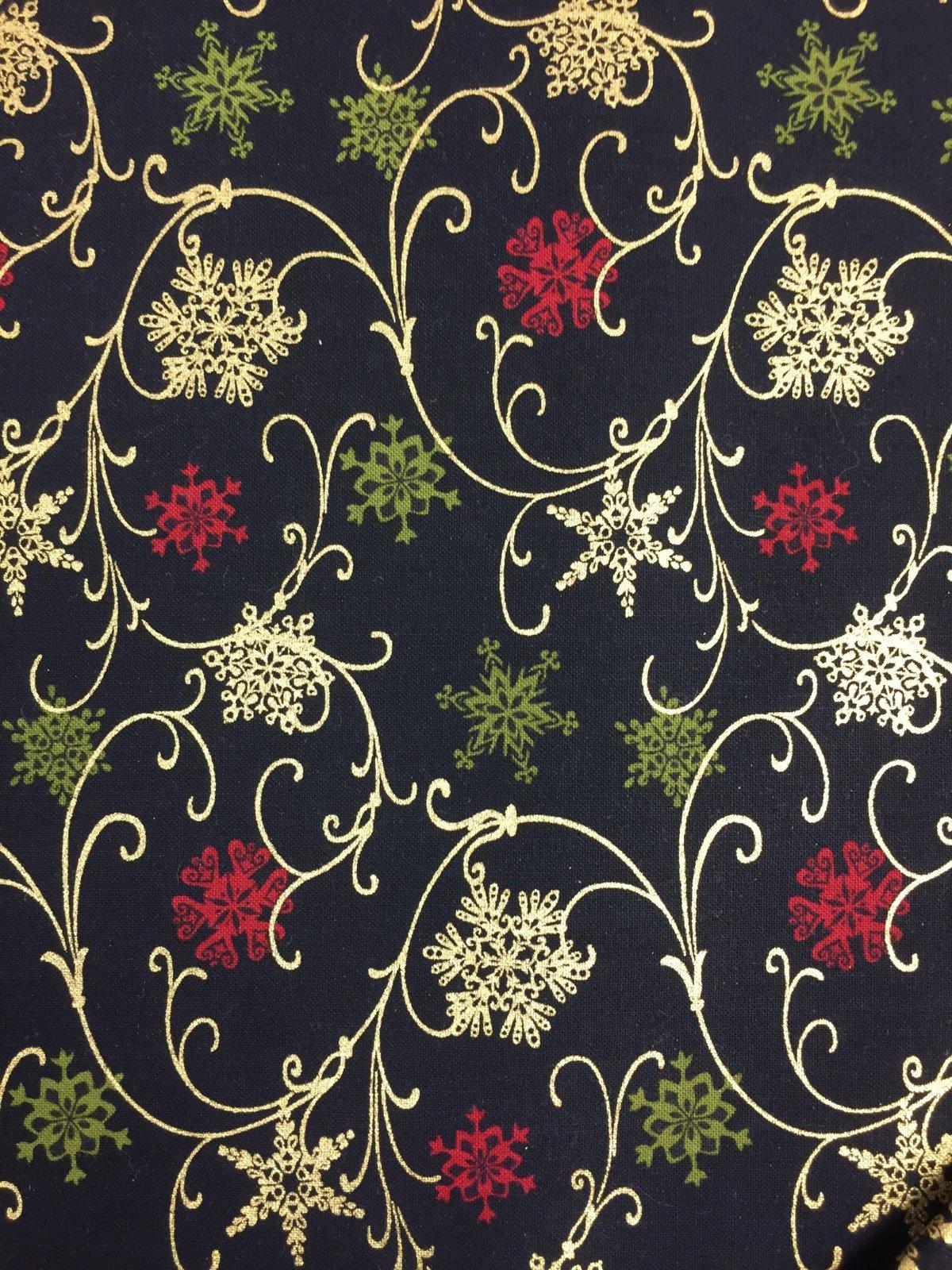 Benartex Florentine Christmas 1667M 12