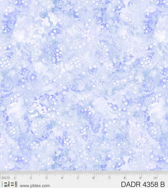 108 Wide Day Dreams Paisley 4358-B