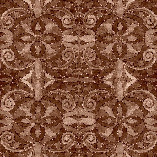 108 Wide Baroque Brown 9777-39