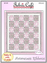 Awareness Ribbons Quilt 91222