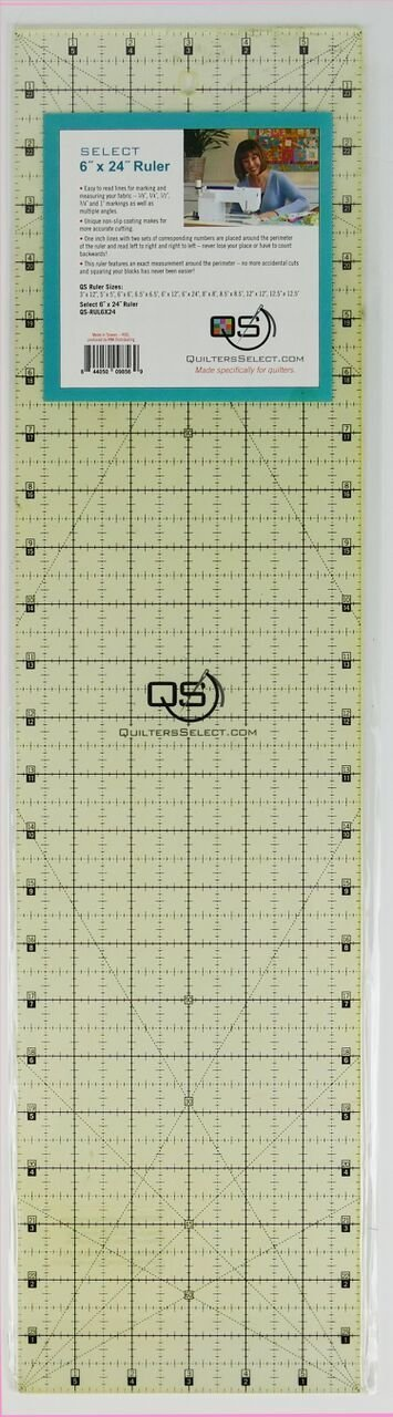 QUILTER'S SELECT 6x24 RULER
